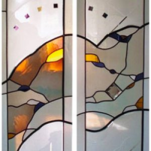 Double-French-Door-Stained-Glass